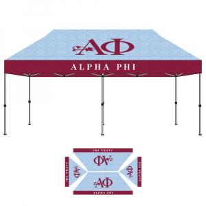 Alpha Phi Sorority Tent 10x20