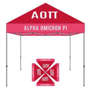 Alpha Omicron Pi Tent 10x10