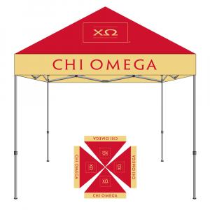 Chi Omega Tent 10x10