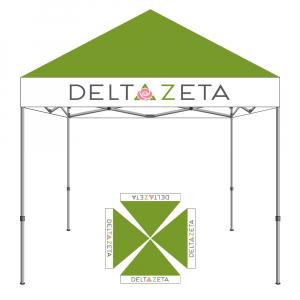 Delta Zeta Tent 10x10