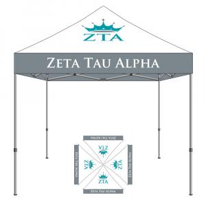 Zeta Tau Alpha Tent 10x10