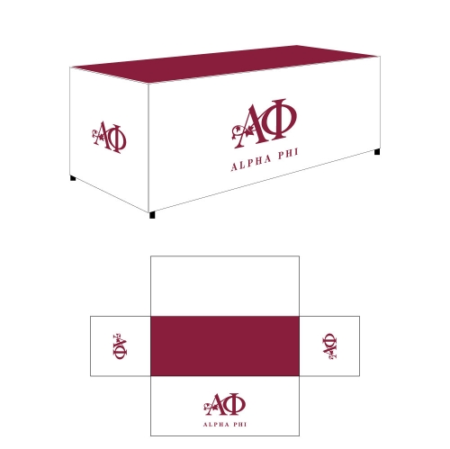 Alpha Phi Sorority Table Cover