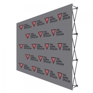 Tau Kappa Epsilon Step and Repeat Event Wall