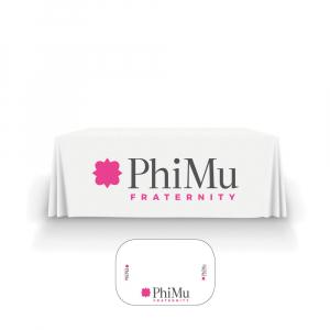 Phi Mu Table Cover
