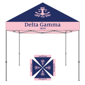 Delta Gamma Sorority Tent 10x10